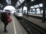 Esperando o trem...